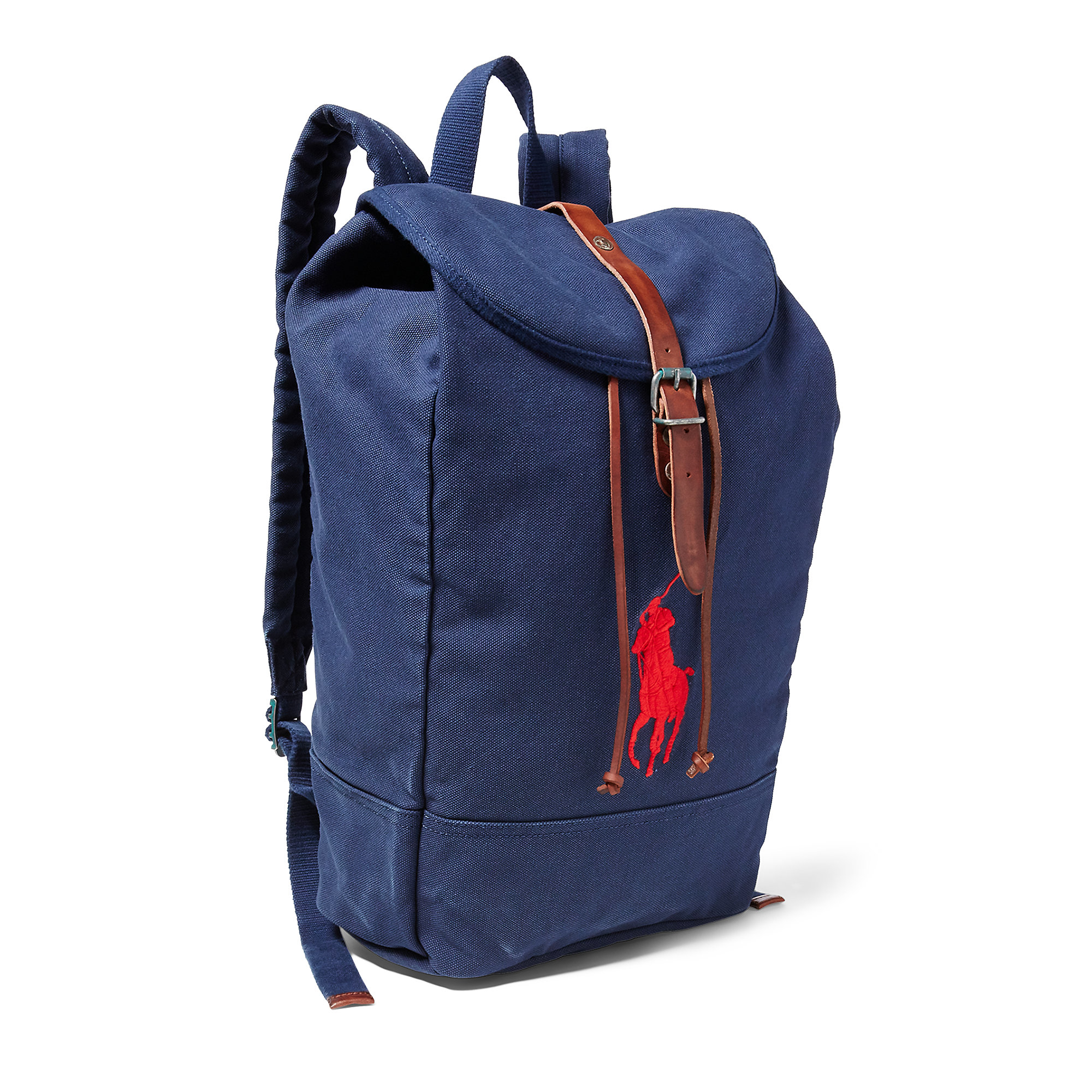 Lyst polo ralph lauren big pony canvas backpack in blue for men jpg  2000x2000 Polo canvas e016985efc918