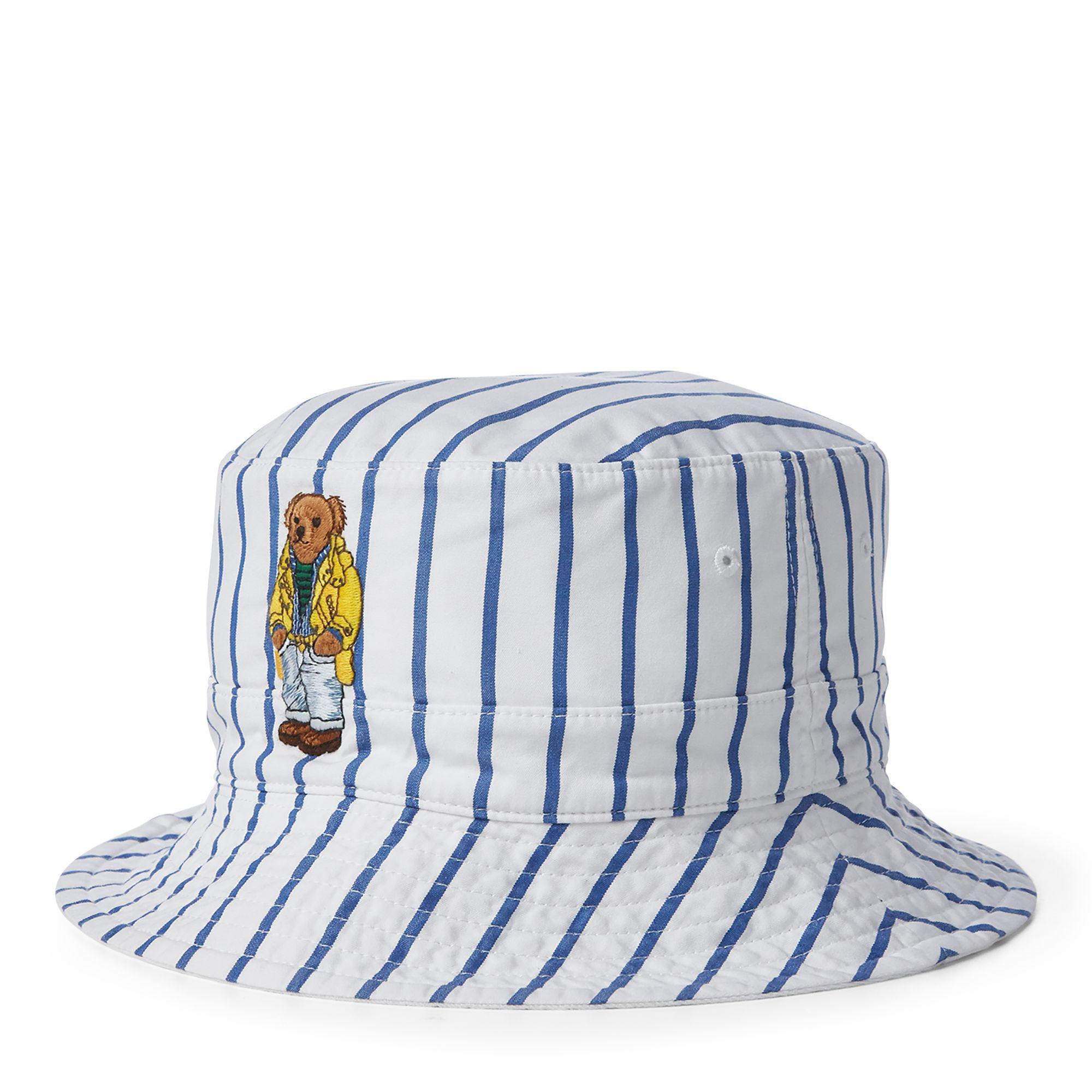 929e94da334 Polo Ralph Lauren Reversible Crested Bucket Hat in Blue for Men - Lyst