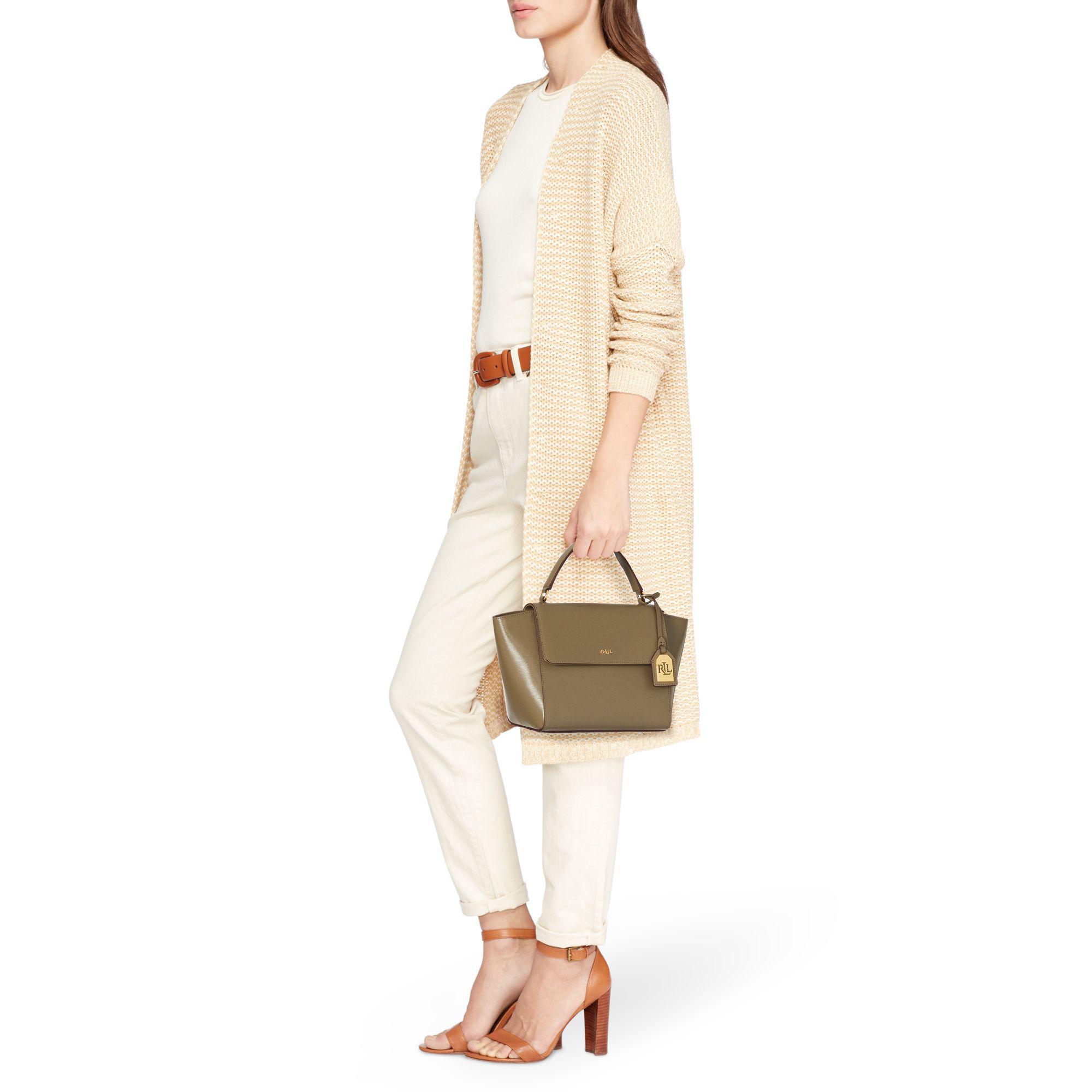 dea3b96b5 Ralph Lauren Leather Barclay Crossbody Bag - Lyst