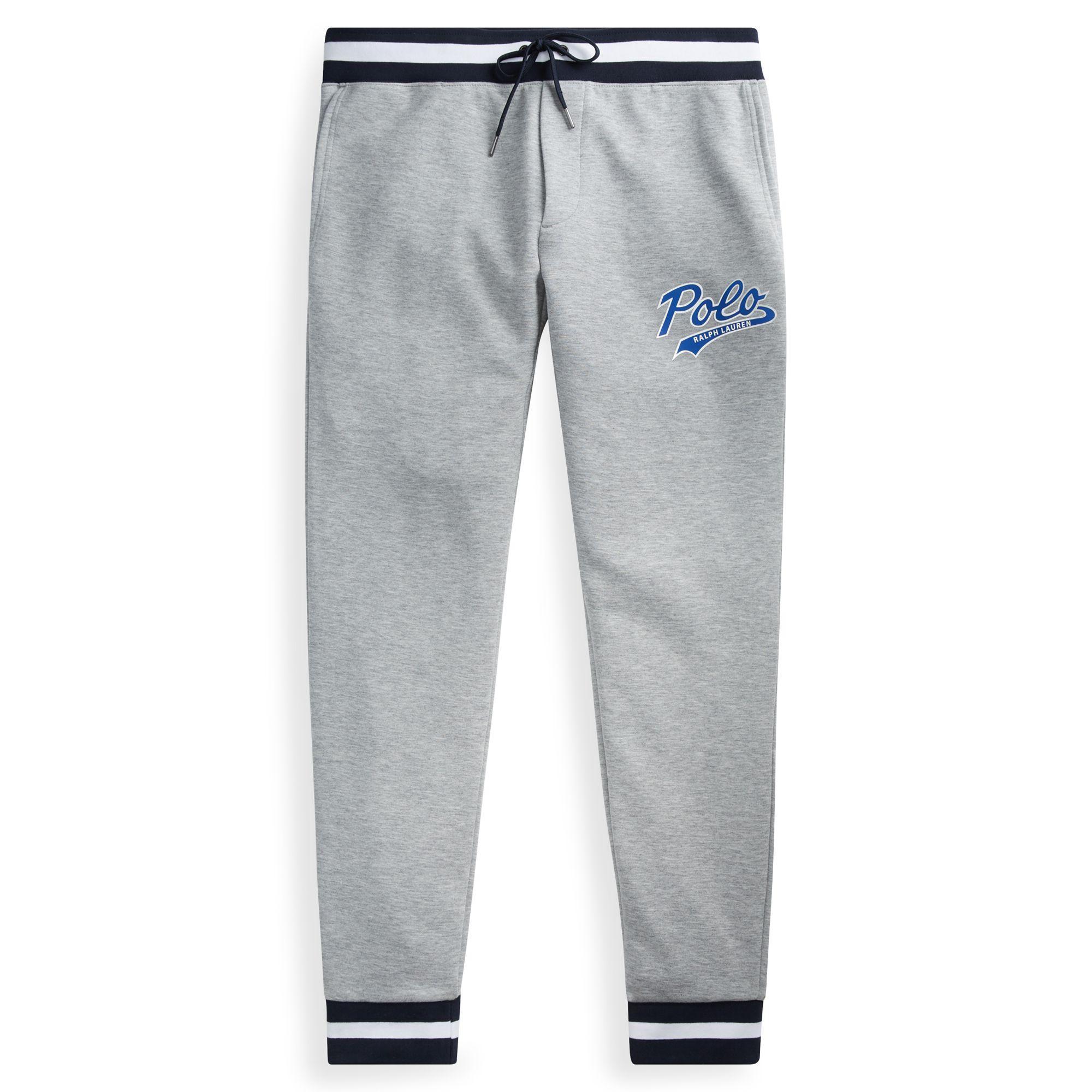 712a24fb9fc Lyst - Pantalon de jogging tricot double Polo Ralph Lauren pour ...