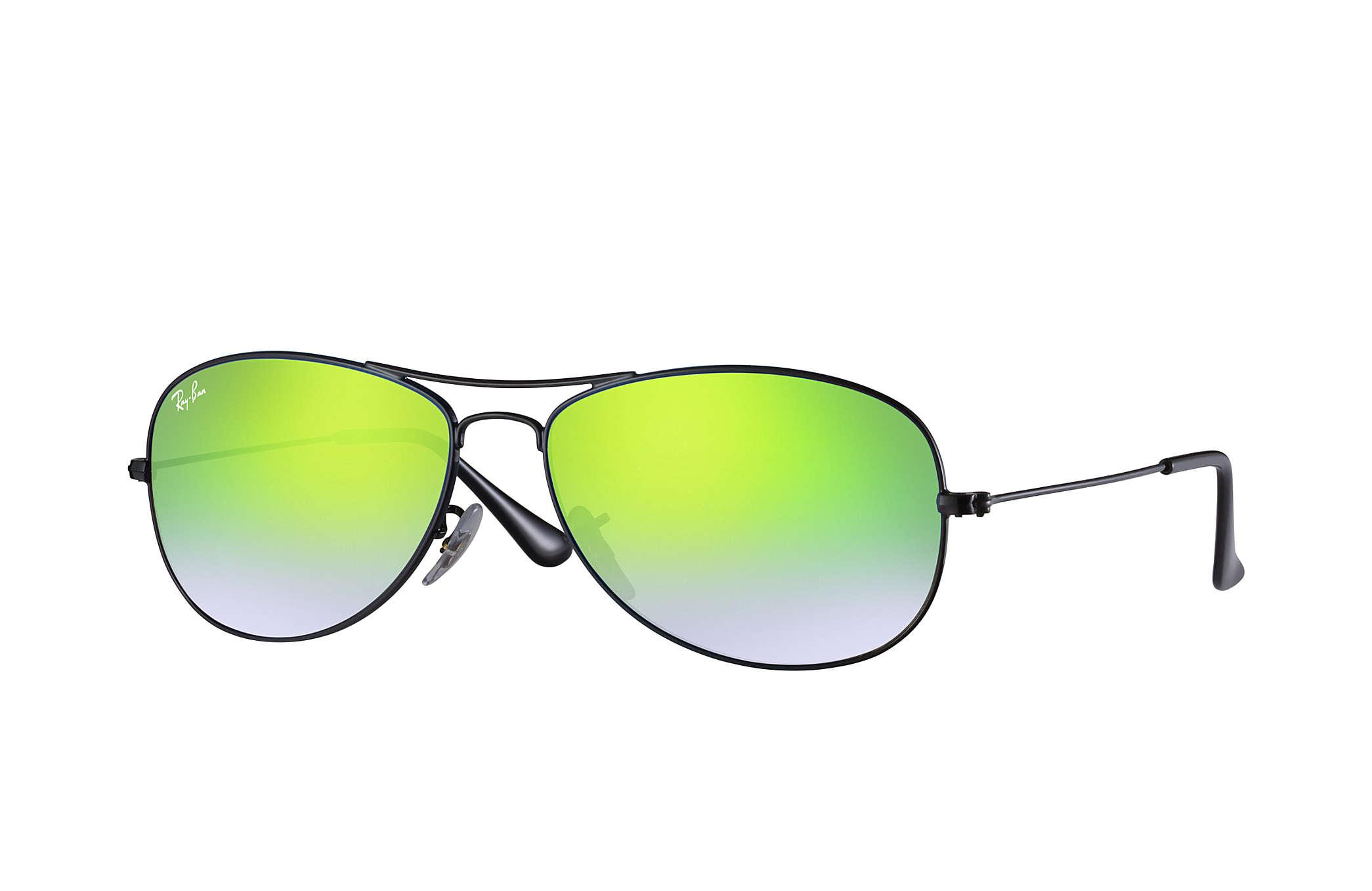 4ced6f782a Lyst - Ray-Ban Cockpit Flash Lenses Gradient in Green for Men