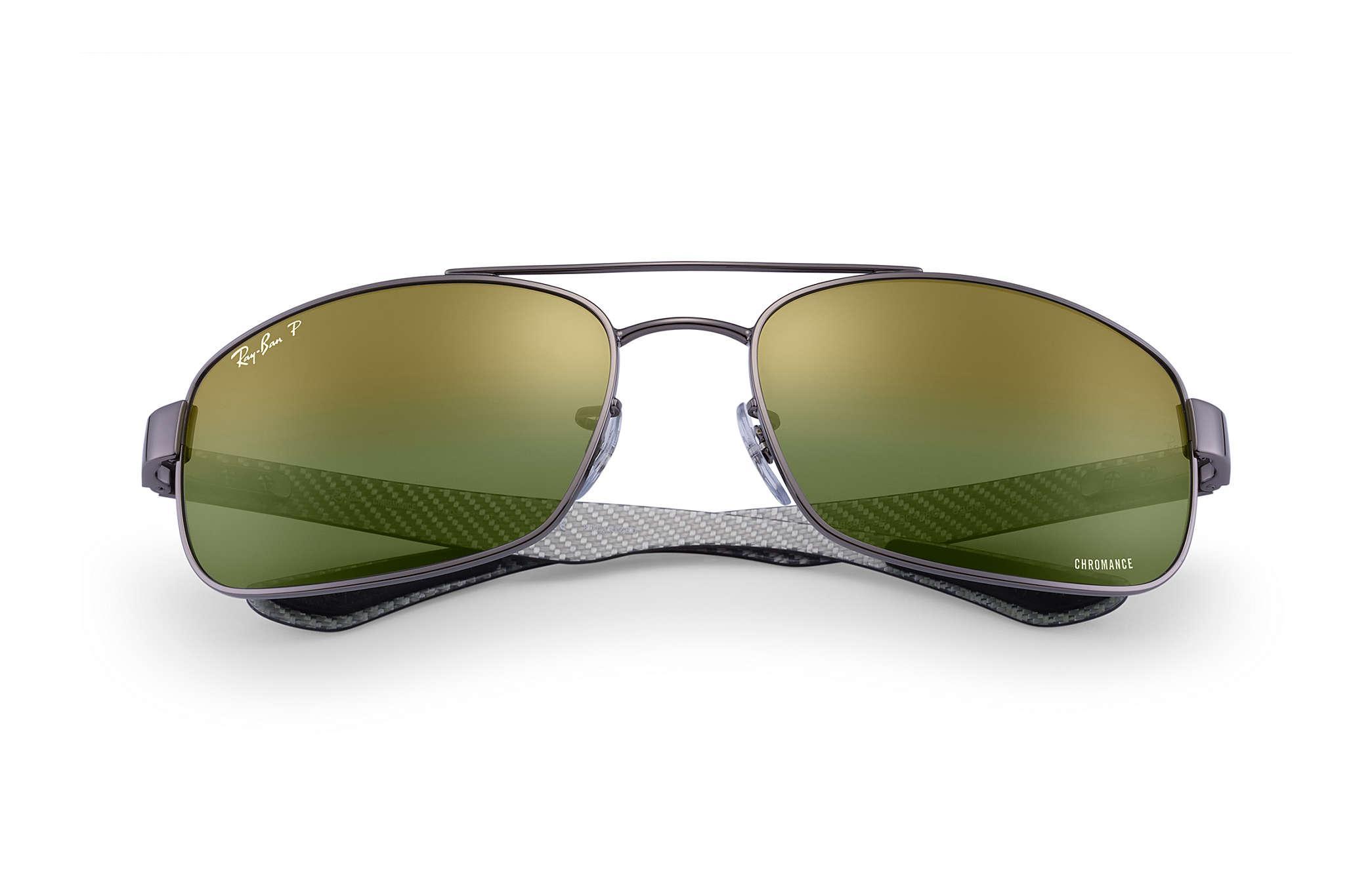b16764c83f9 Ray-Ban - Green Rb8318 Chromance for Men - Lyst. View fullscreen