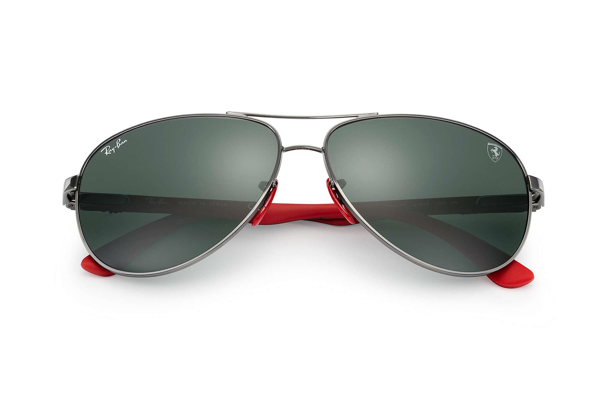 2e065ef644431 Ray-Ban - Green Rb8313m Scuderia Ferrari Collection Black - Lyst. View  fullscreen