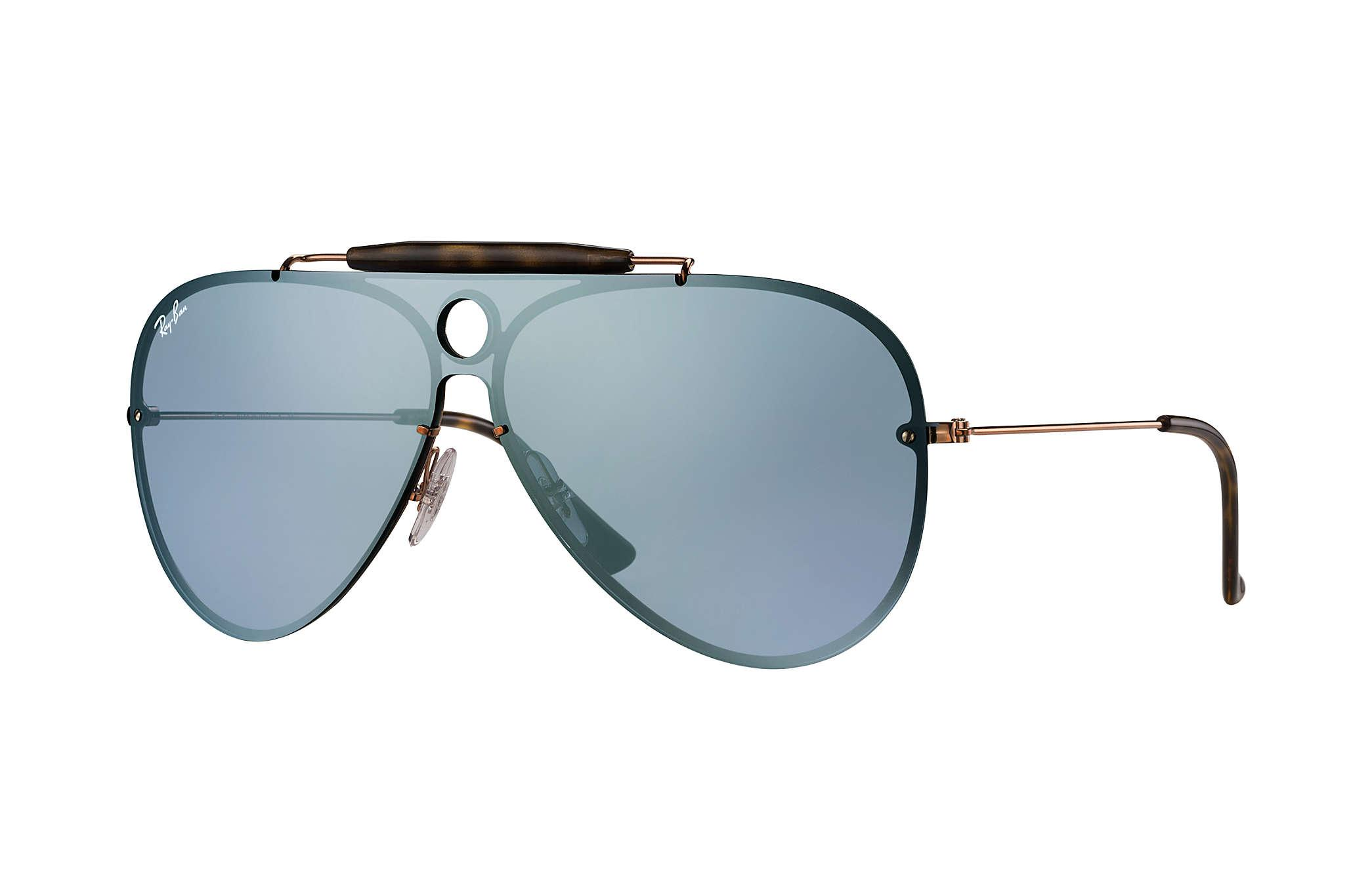 834998d4df7 Ray-Ban Blaze Shooter in Blue for Men - Lyst