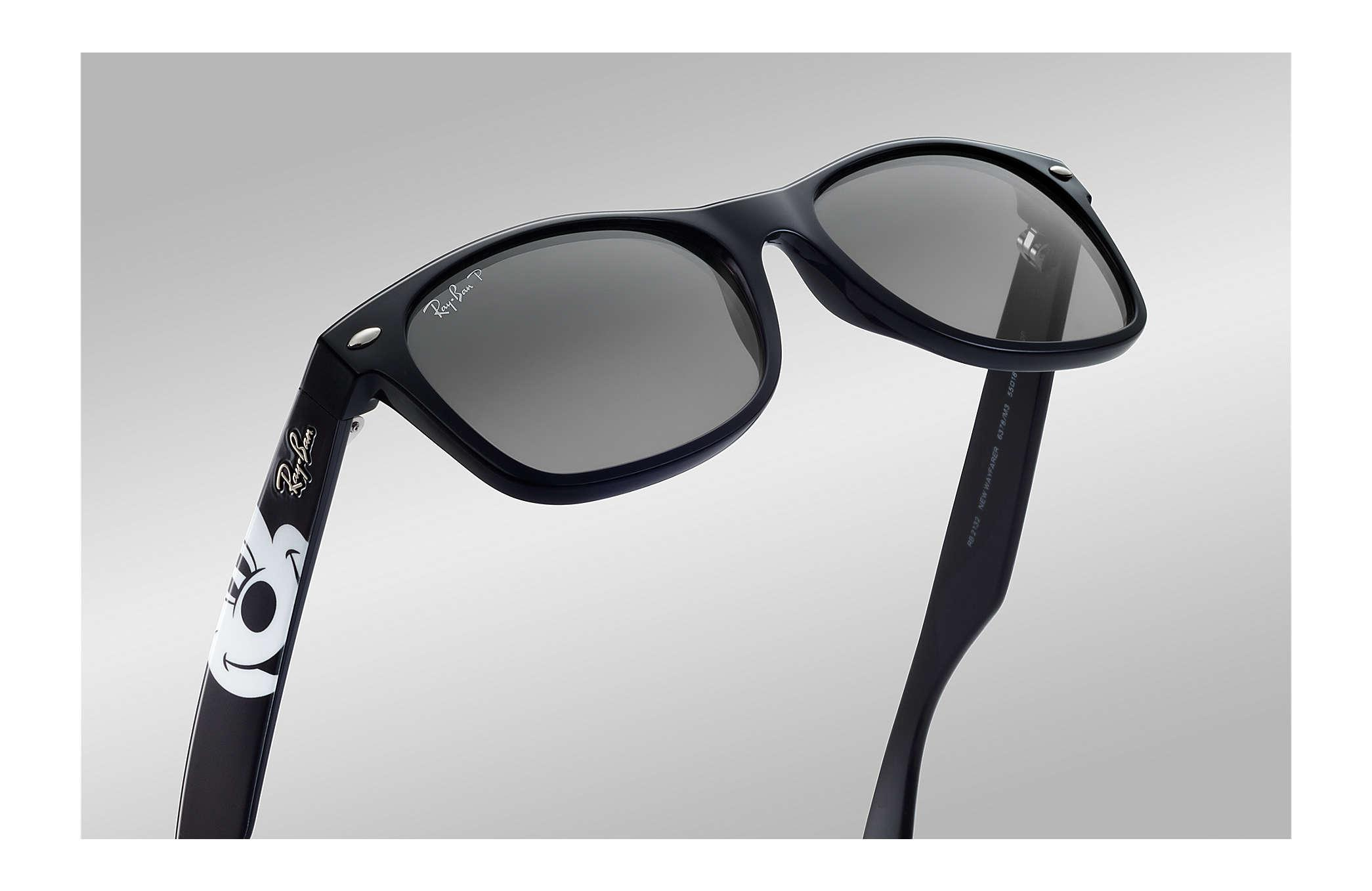 f6e04486ddb Lyst - Ray-Ban Rb2132 Mickey Mouse Collection in Black