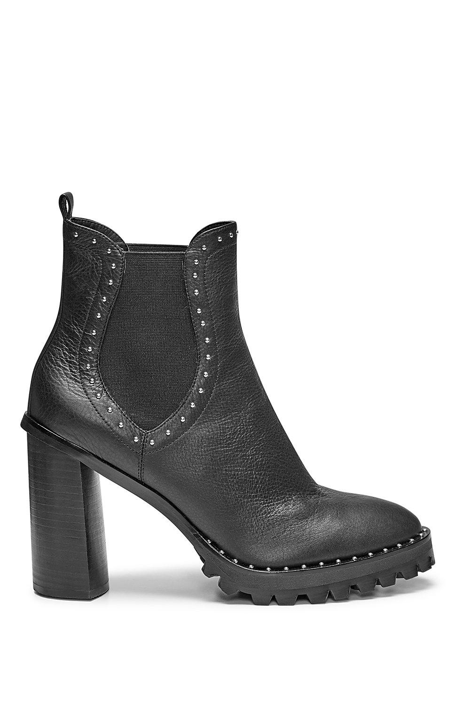 144785d3cdf Rebecca Minkoff Edolie Boot in Black - Lyst