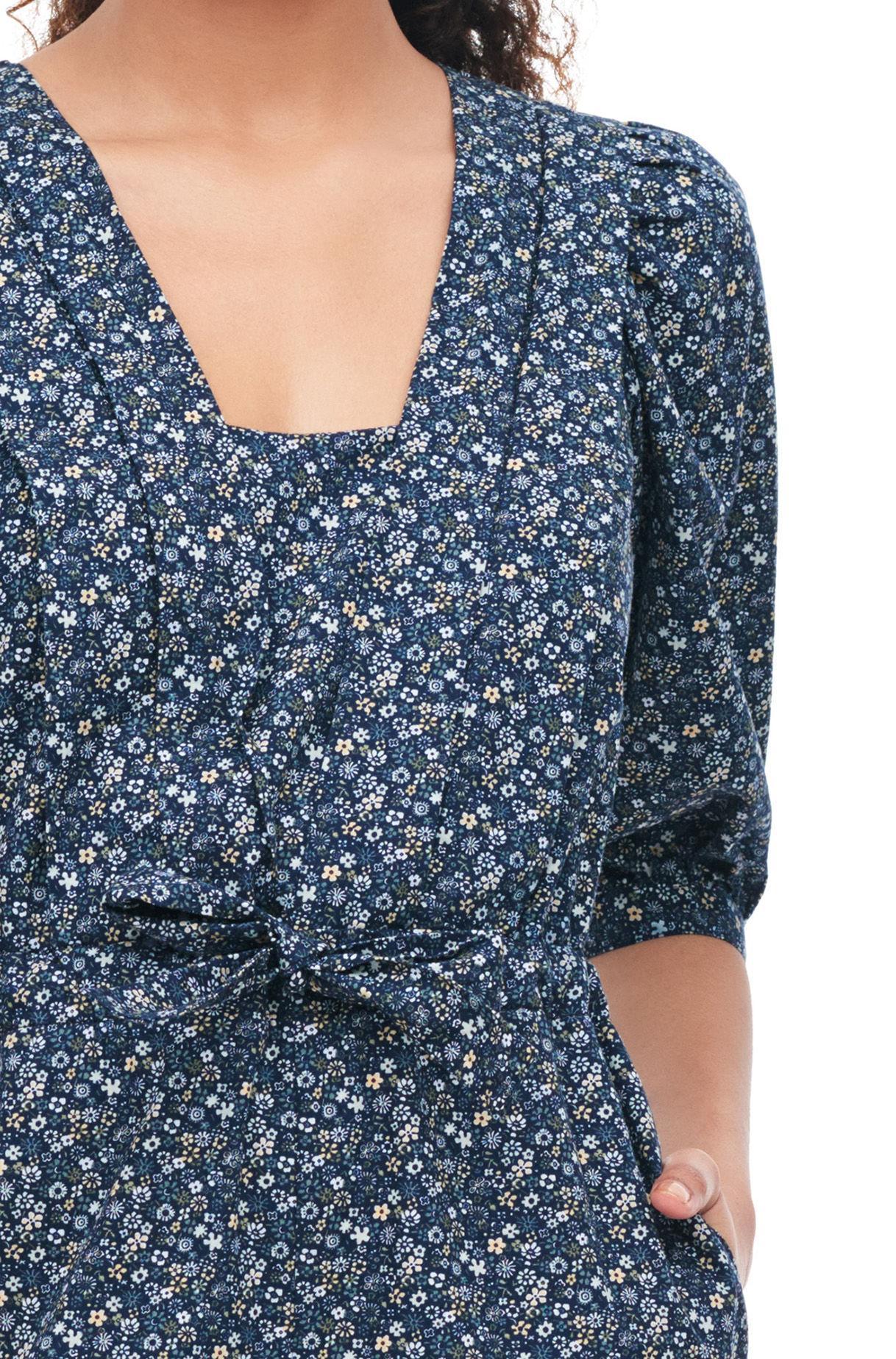5adb4b09f358 Rebecca Taylor - Blue La Vie Chinon Floral Jumpsuit Midnight Navy