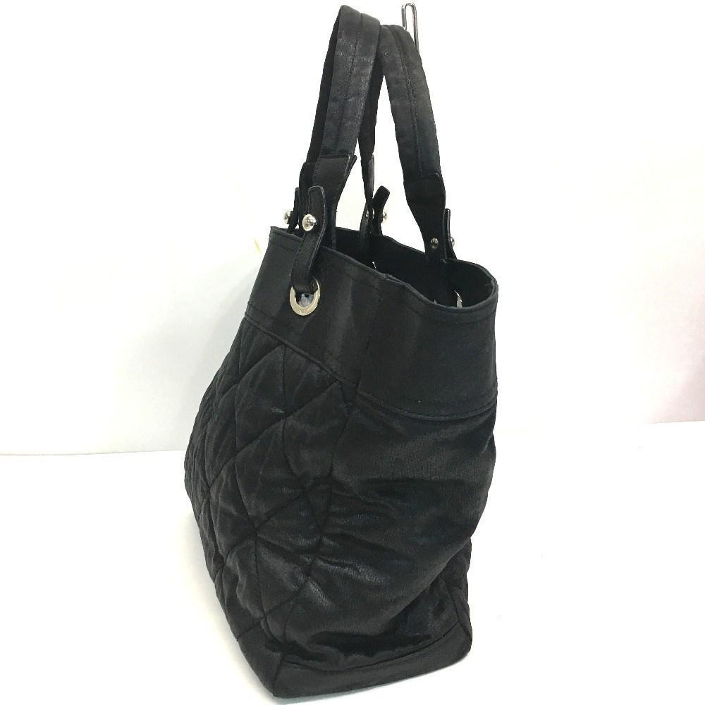 751777393df7 Lyst - Chanel Coding Canvas Paris Biarritz Tote Mm Tote Bag Black ...