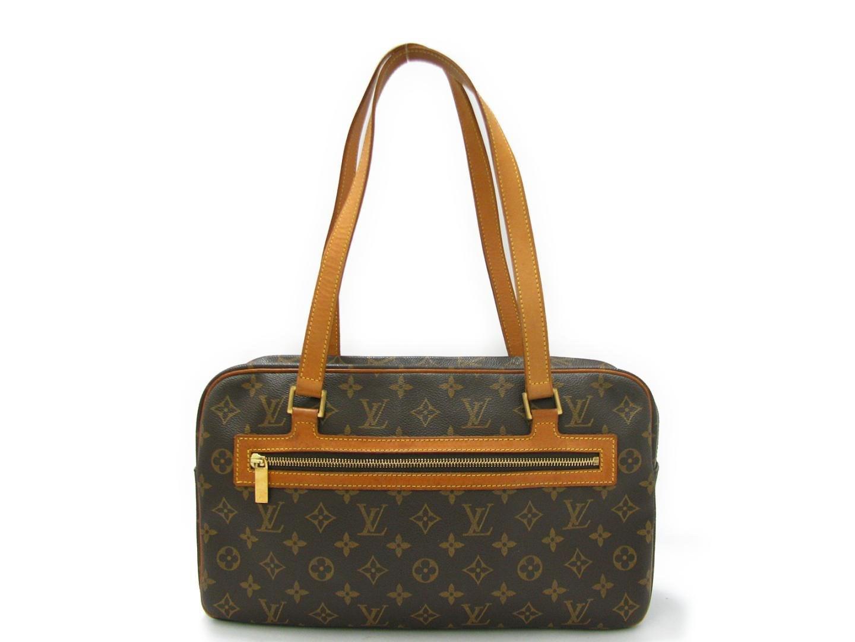8f6124eb5bfb Lyst - Louis Vuitton Cite Gm Shoulder Bag Monogram Canvas M51181 in ...