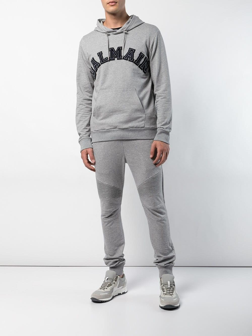 3a2003d38d3 Balmain - Gray Trousers W8h5583j191 170 for Men - Lyst. View fullscreen
