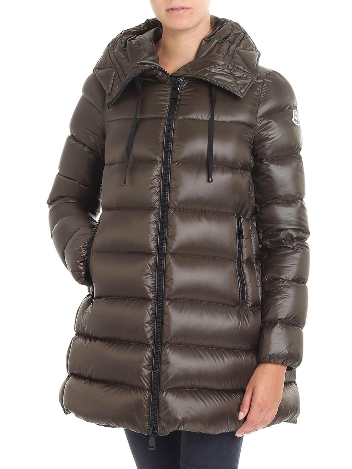 Moncler. Women's Green - Suyen Down Jacket