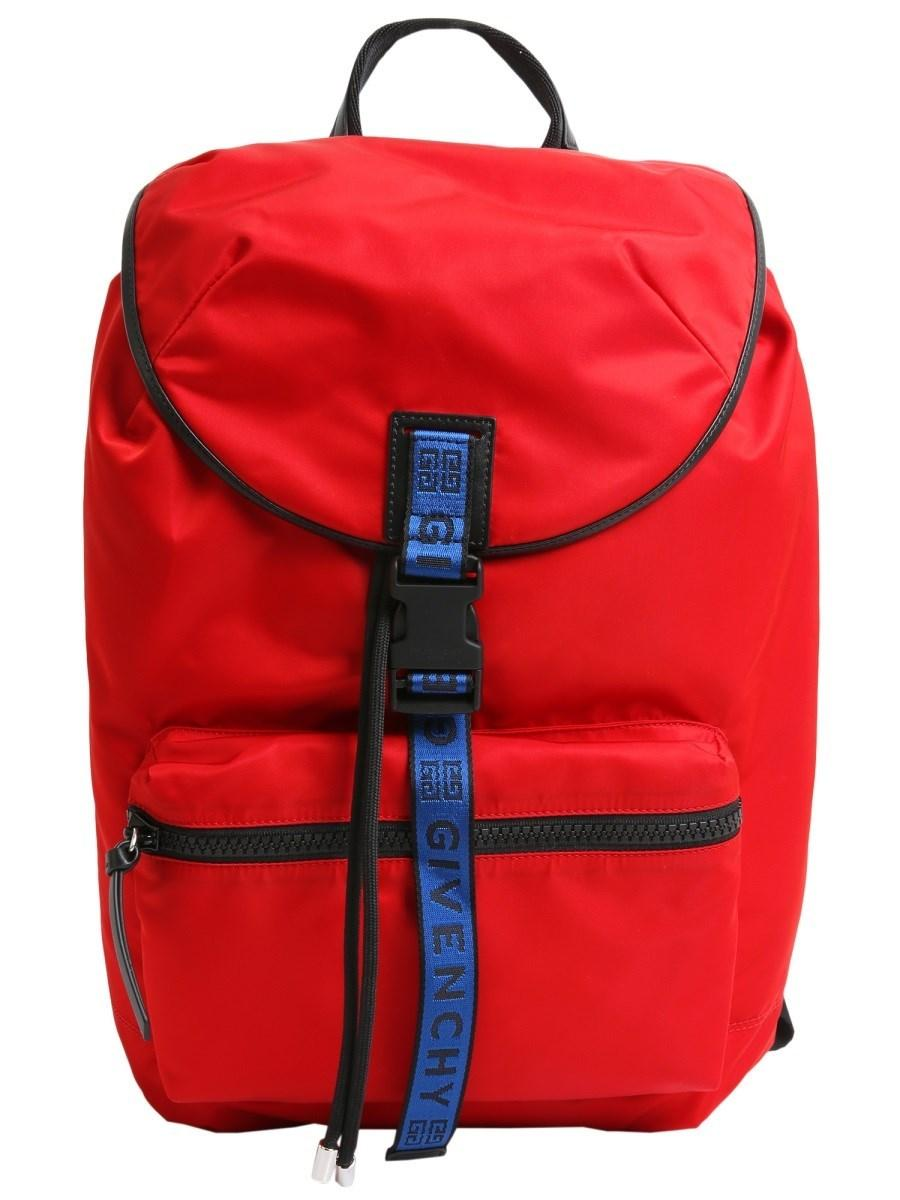 204b6f31c9 Lyst - Givenchy 4g Pack-away Backpack in Red for Men
