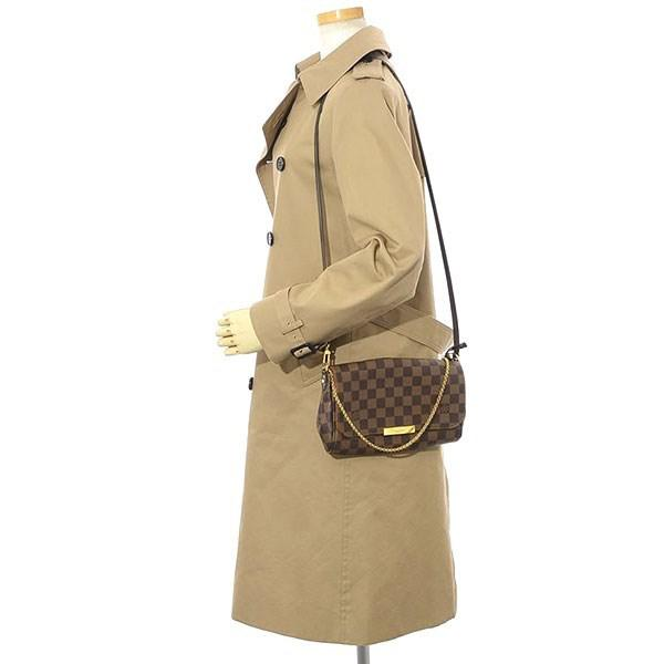 2ce41adb5b2f Lyst - Louis Vuitton Damier Favorit Pm Shoulder Bag N 41276 Maid In ...