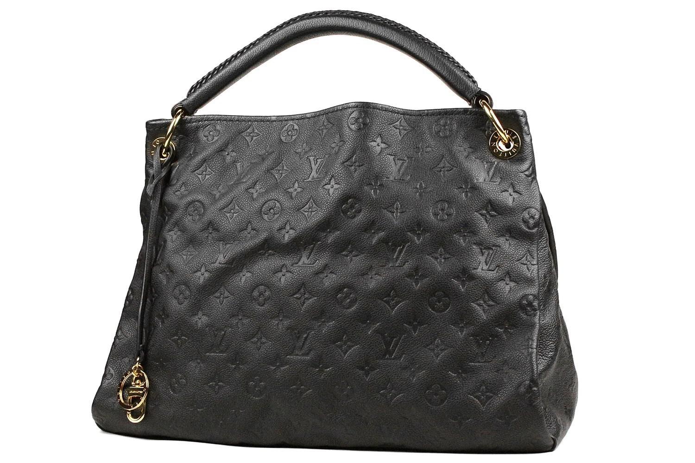 Lyst - Louis Vuitton  artsy Mm monogram Empreinte noir m41066 in Black 7c647114dc