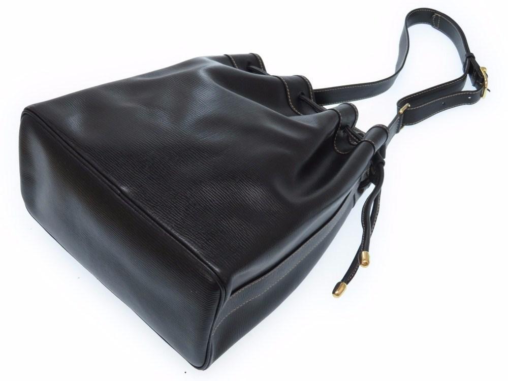 71fe50cc42 Lyst - Céline Vintage Drawstring Shoulder Bagshoulder Bag Black ...