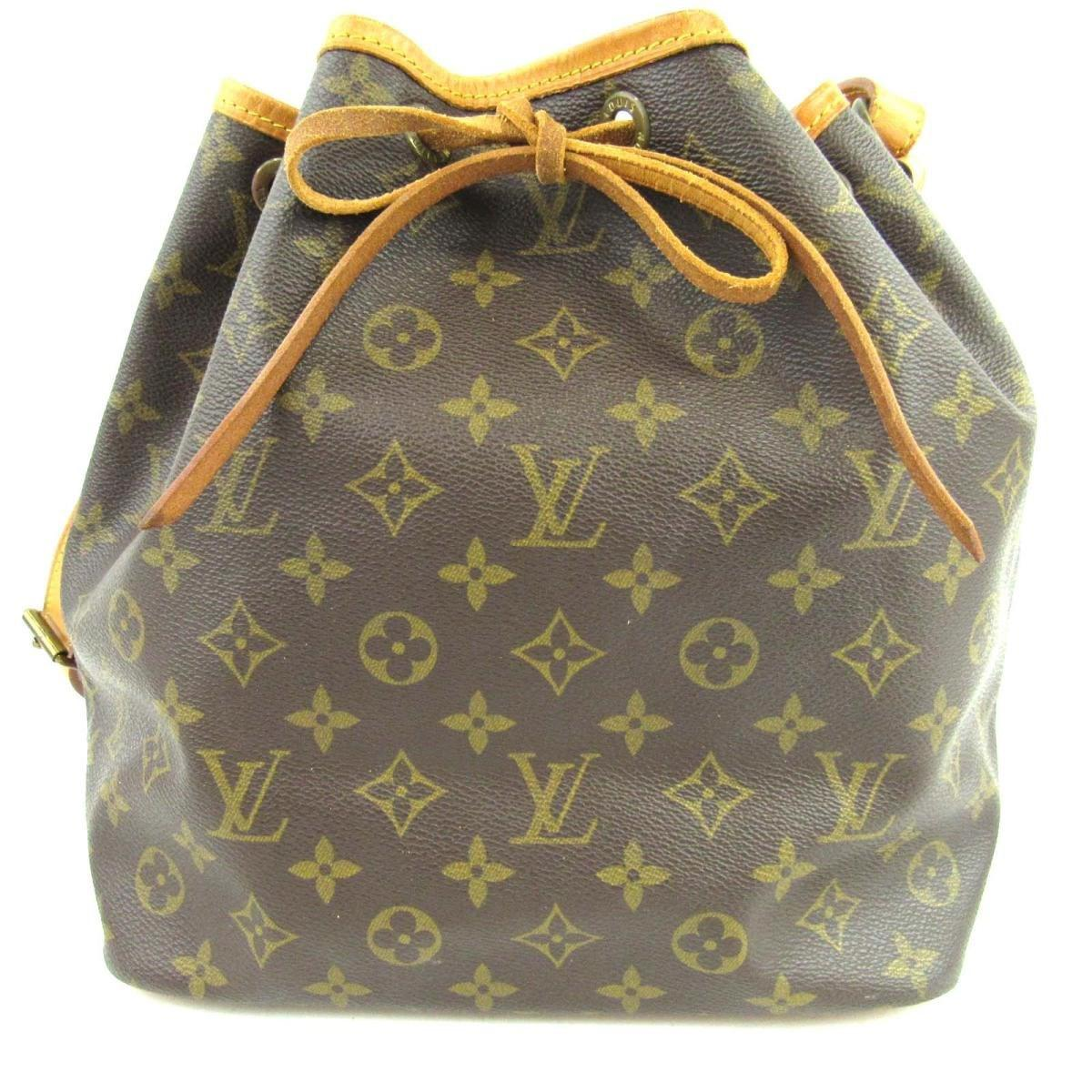c79c02f2e3d84 Louis Vuitton Auth Petite Noe Shoulder Bag M42226 Monogram Used ...