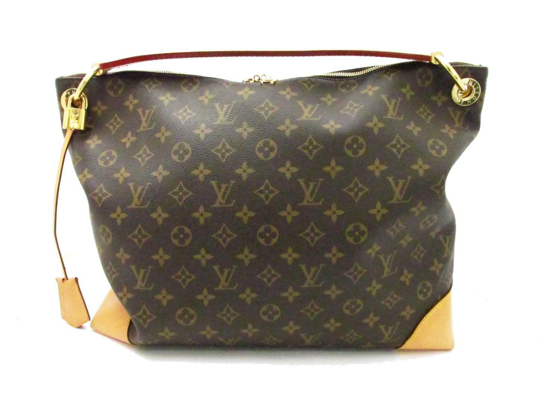 f55bb47e12ca Lyst - Louis Vuitton Berri Pm Shoulder Bag Monogram Canvas M41623 in ...