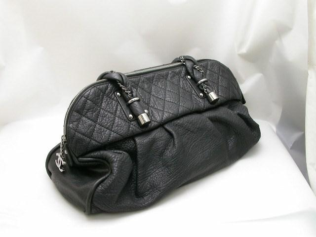 Lyst - Chanel Lady Braid Line Shoulder Bag in Black 24d69b030fb65