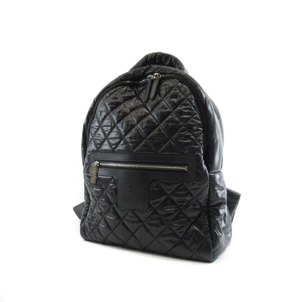 5a65d3bed893a9 Lyst - Chanel Nylon Backpack · Daypack Coco Cocoon in Black