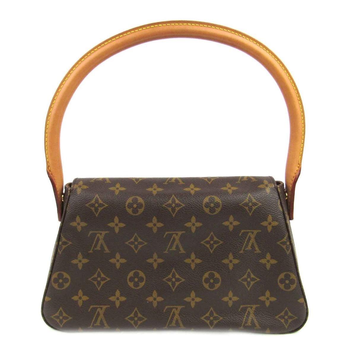 151f1529ed2c5 Louis Vuitton - Brown Authentic Mini Looping Flap Shoulder Bag Monogram  Canvas M51147 - Lyst. View fullscreen