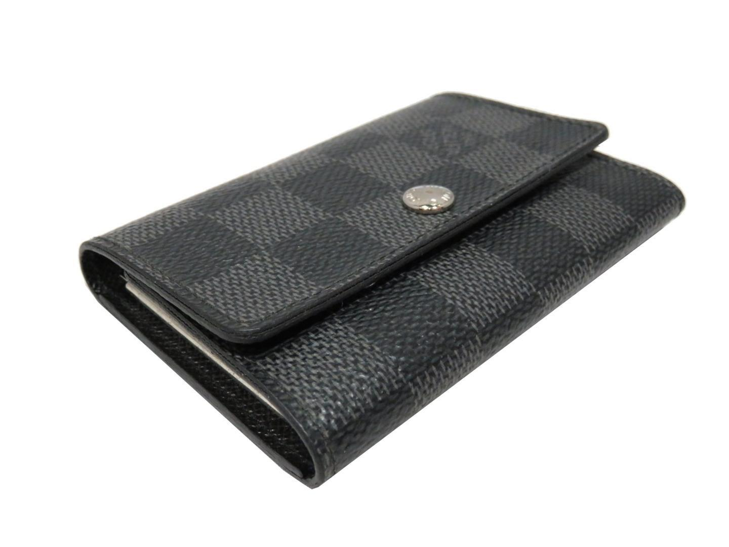 f55550e80074 Lyst - Louis Vuitton Multicles 6 Key Holder Damier Graphite N62662 ...