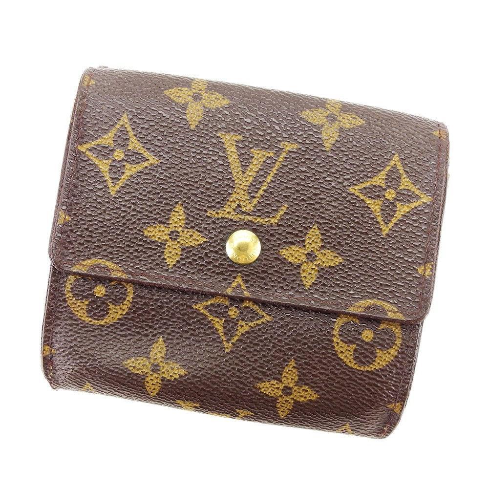 35b3fd13d713 Lyst - Louis Vuitton Wallet Purse Double Sided Wallet Monogram Women ...