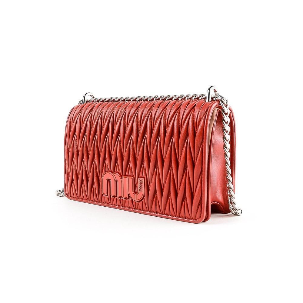 e6d897560ad7 Miu Miu - Red Pochettes   Clutches 68z Fuoco - Lyst. View fullscreen