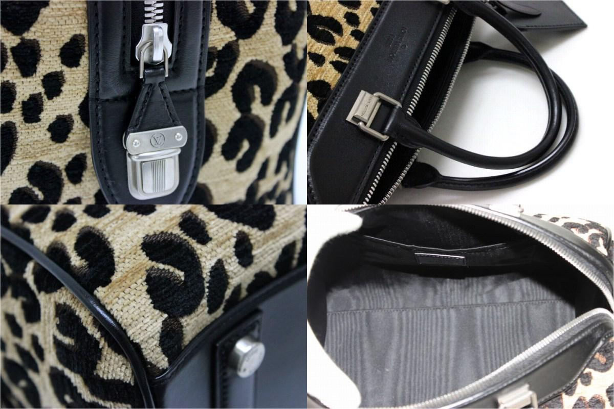 eed3c478aba2 Lyst - Louis Vuitton Steven Sprouse Leopard Speedy Pm Hand Bag ...