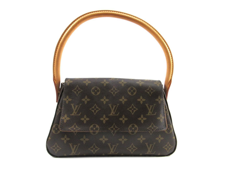 389ff16b48c28 Louis Vuitton Mini Looping Flap Shoulder Bag Monogram Canvas M51147 ...