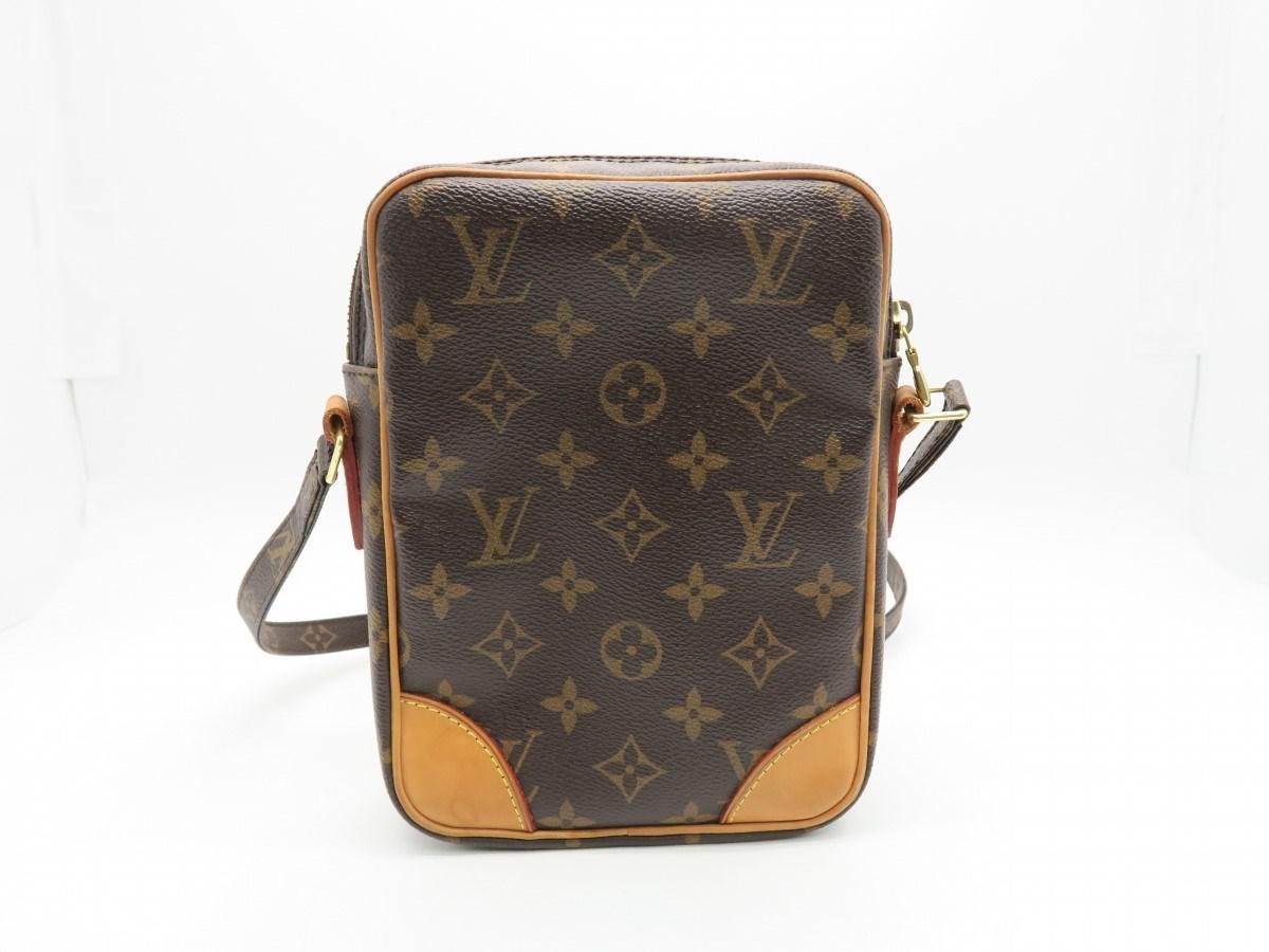 ff7b5bc1879e Lyst - Louis Vuitton Monogram Danube Shoulder Bag Brown M45266 7997 ...