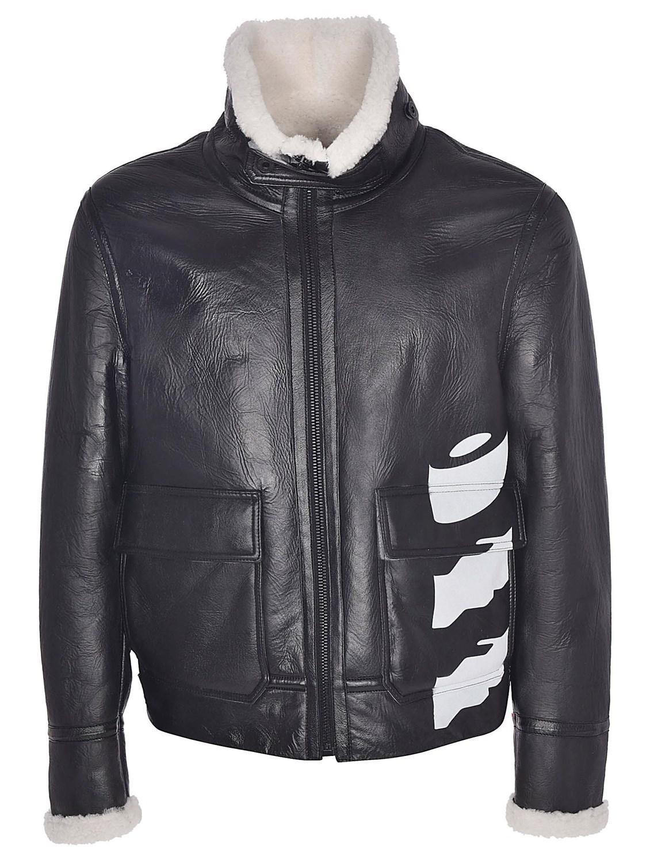 6649f8728 Lyst - Off-White C O Virgil Abloh White Black Diag Jacket in Black ...