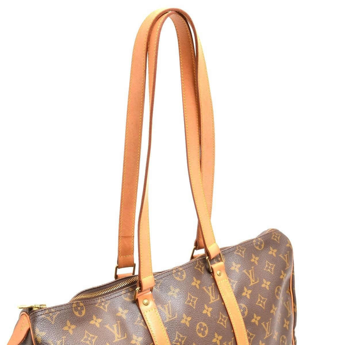 de40dc833461e Lyst - Louis Vuitton Monogram Canvas Flaneriepm Boston Bag M 51116 ...