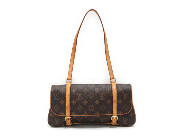 6891730038a8 Louis Vuitton. Women s Brown Auth Murell Shoulder Bag Monogram Canvas M51157