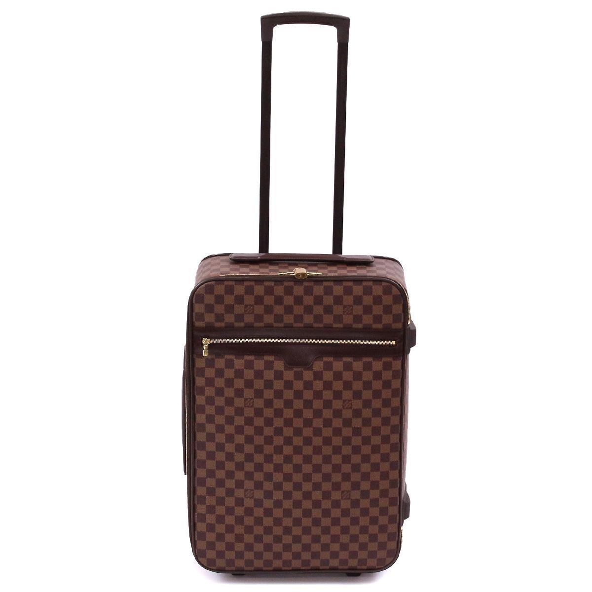 25ee971ae Lyst - Louis Vuitton Damier Pegase 55 Travel Carry Bag Ebene N23294 ...