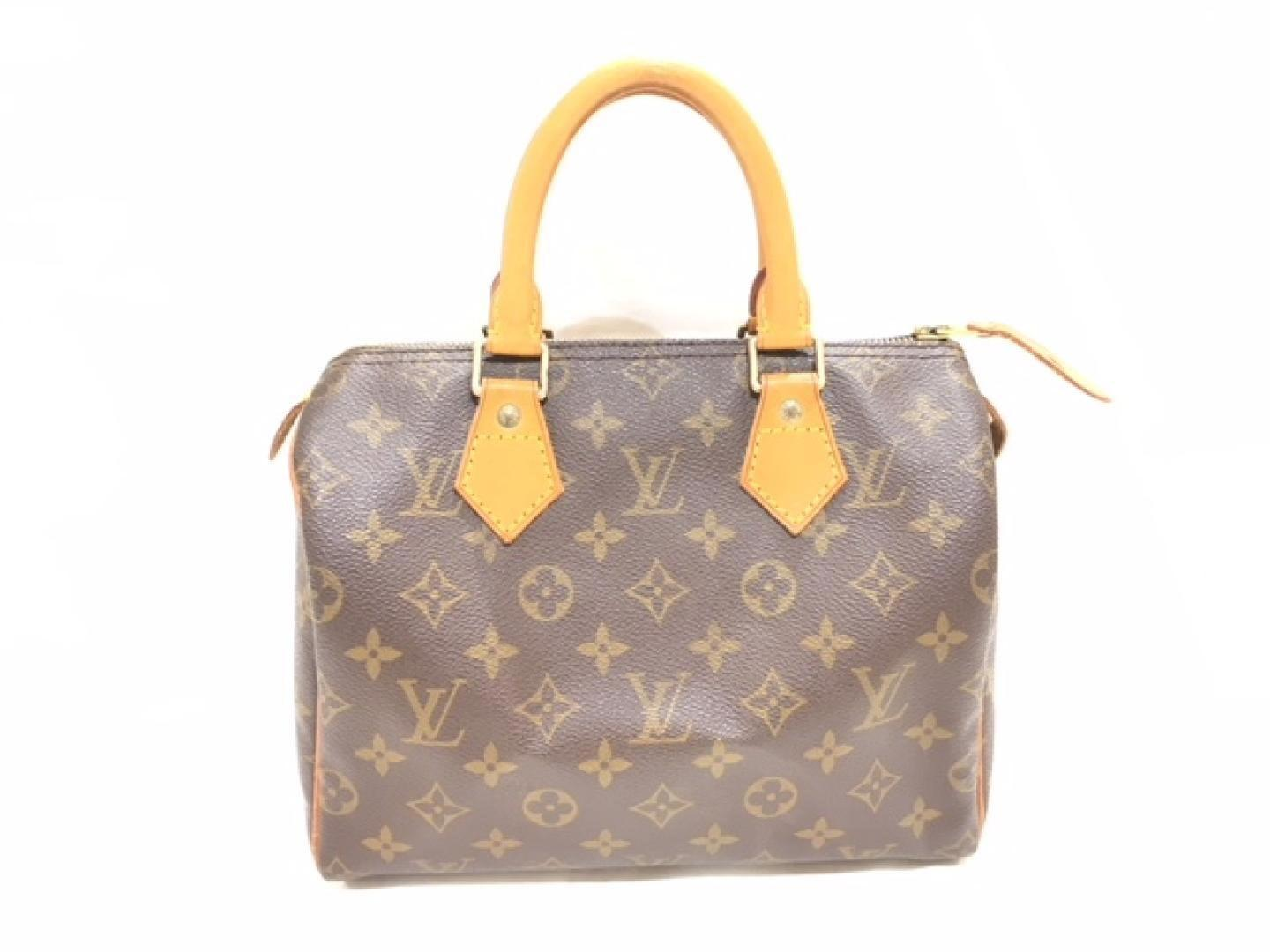 9eee16de4553 Lyst - Louis Vuitton Speedy 25 Boston Hand Bag Monogram Canvas ...
