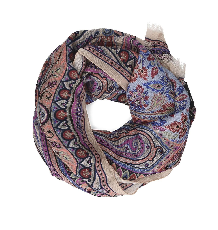 51498b4df3605 Lyst - Etro Women's 100074535800 Multicolor Wool Scarf