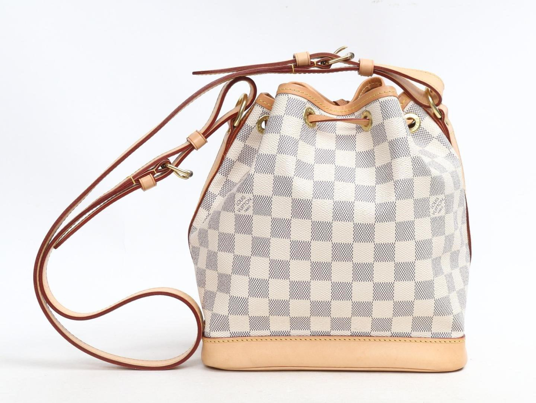 93a76e901252 Lyst - Louis Vuitton Noe Bb Drawstring Purse Shoulder Bag Damier ...