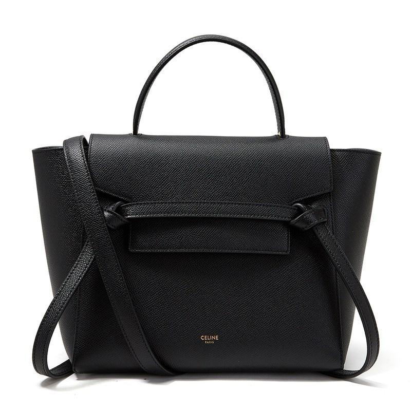 Lyst - Céline Micro Belt Bag in Black 5c628a1aa5dbc