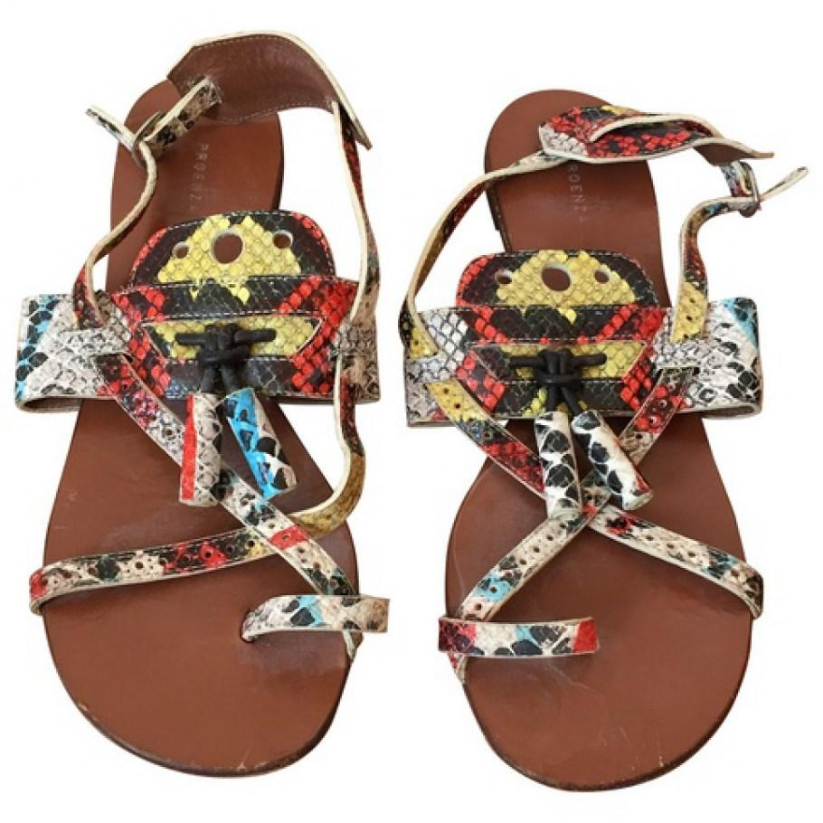 Proenza Schouler Exotic Leathers Sandals Sale Outlet Locations OFQ9i