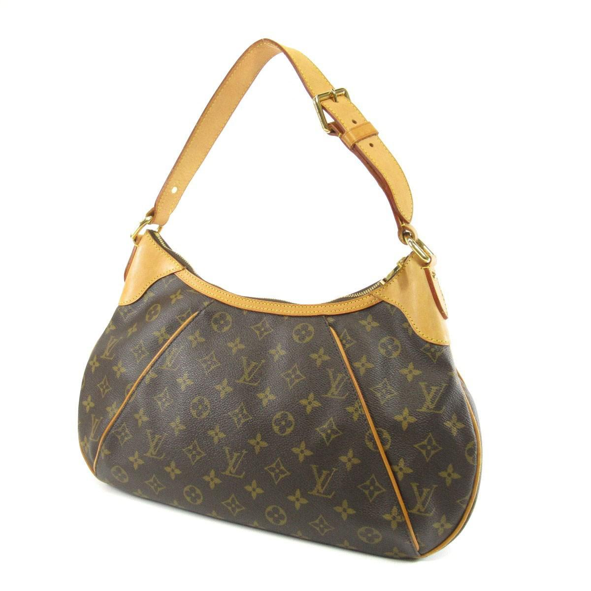 e3c18d8943fb Lyst - Louis Vuitton Monogram Canvas Shoulder Bag M56384 Thames Pm ...