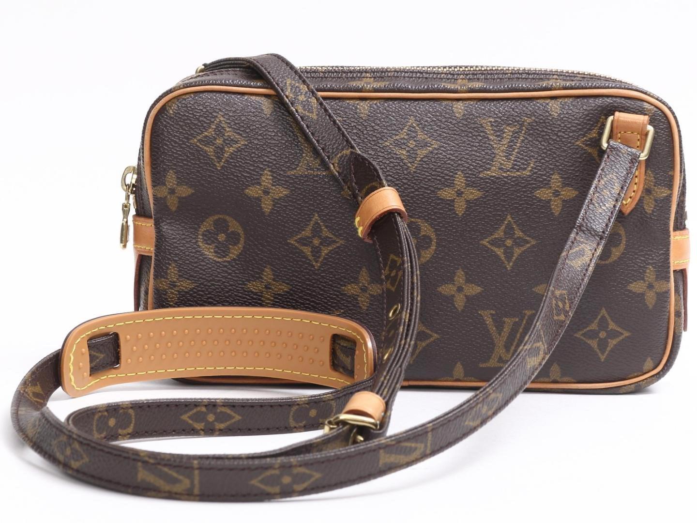 93ac81def363 Lyst - Louis Vuitton Pochette Marly Bandouliere Crossbody Shoulder ...