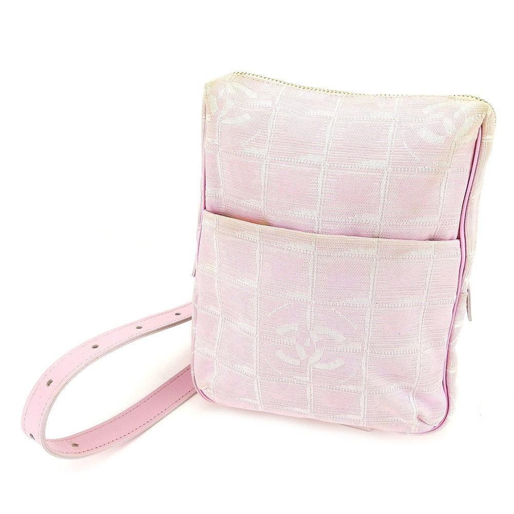 8cf6025fd2aa Lyst - Chanel Bag Travel Line Ladies Used T3462 in Pink