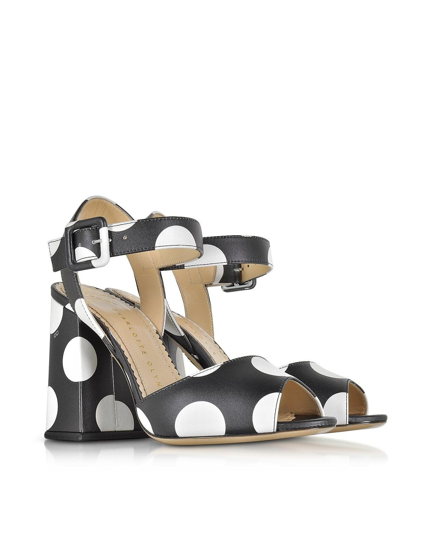 05f5973f7bb3 charlotte-olympia-Black-Emma-Black-Polka-Dot-Print-Leather-Sandal.jpeg