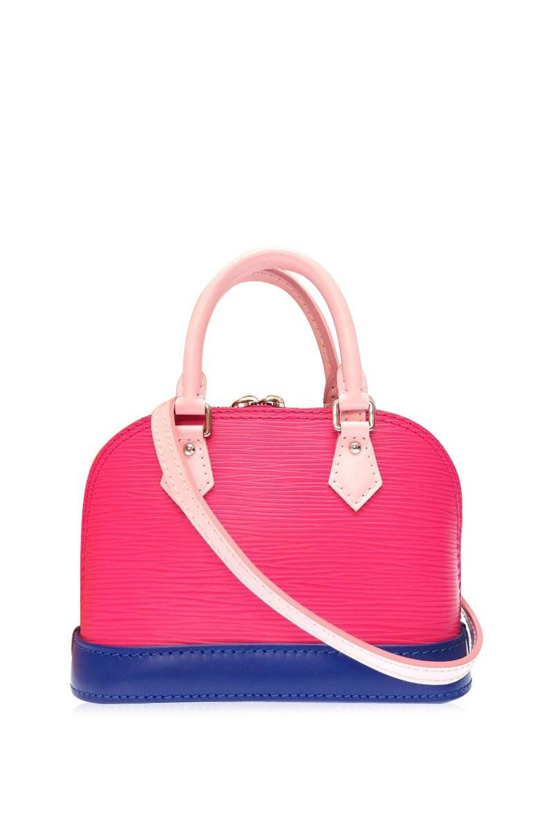 9a4b18774 Louis Vuitton M51077 Nano Alma Tricolor 2 Way Bagshoulder Bag Pink ...