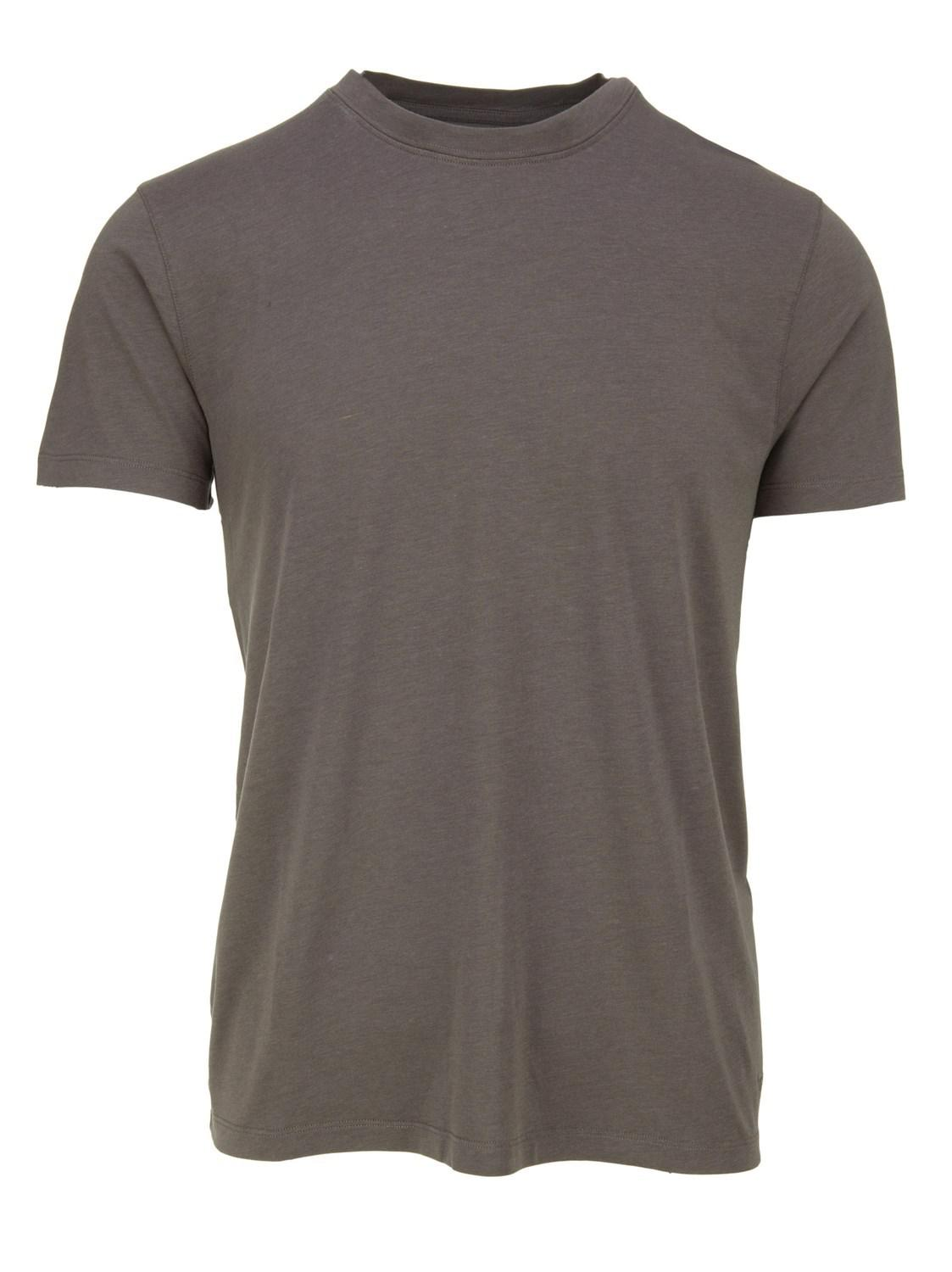 Lyst Tom Ford Dark Grey Basic T Shirt In Blend Cotton With