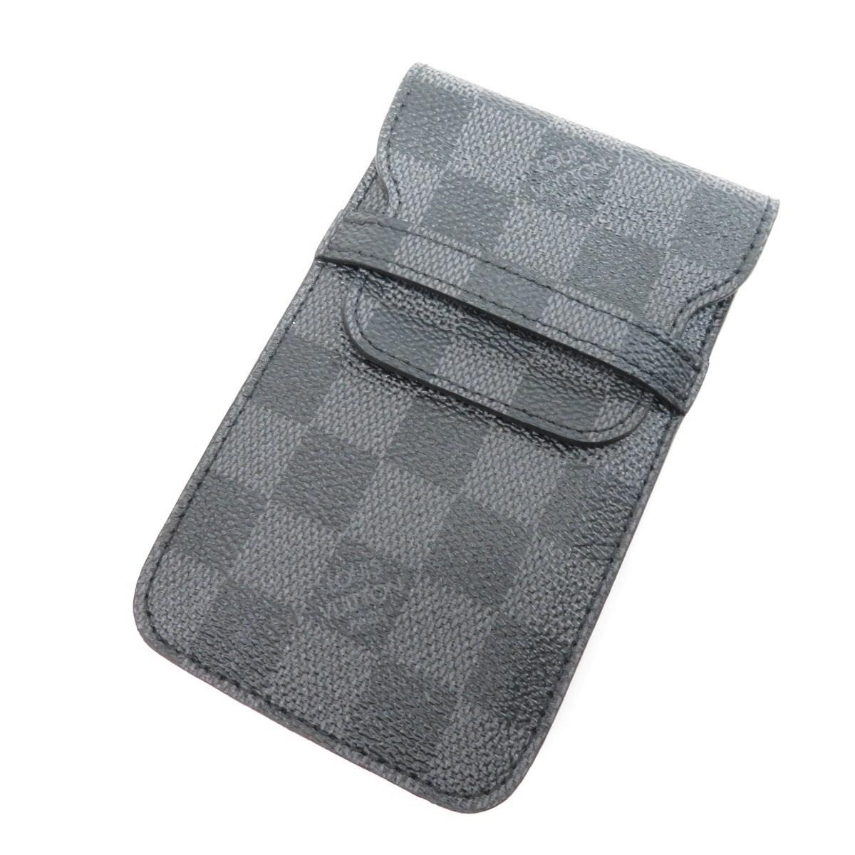 cheap for discount ed0d0 205c5 Louis Vuitton Damier Canvas Smartphone Case M63109 Iphone Case ...