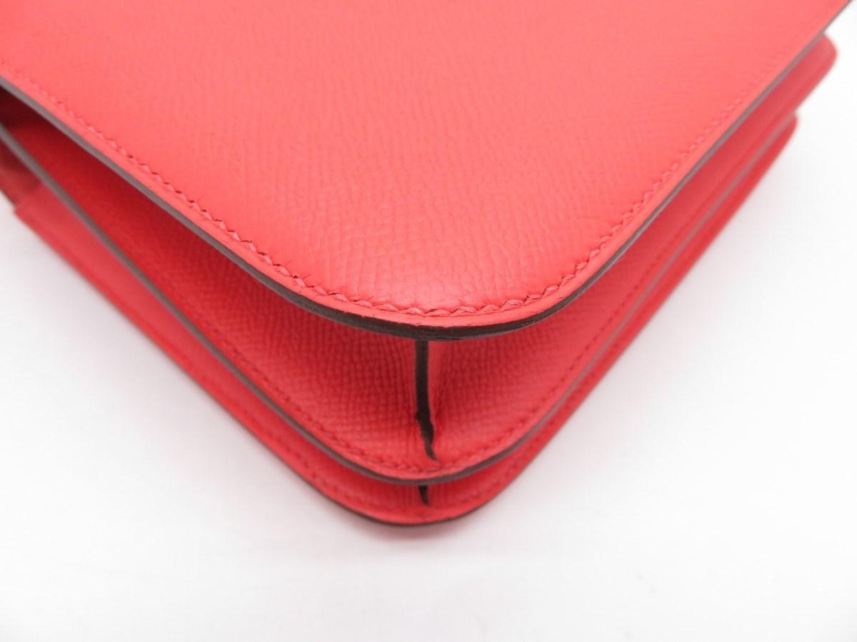 59781b916053 ... good lyst hermès epsom leather constance 24 shoulder bag rose jaipur  e6f1f 29c2e