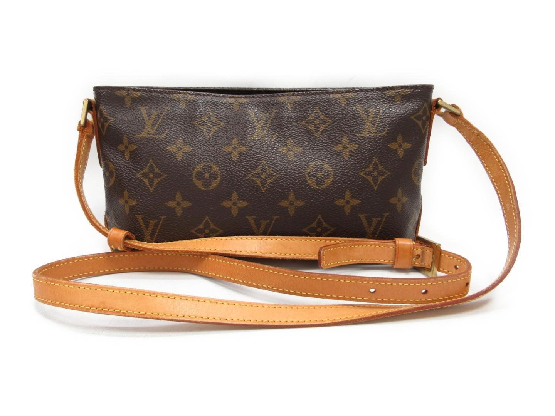 1ce1c969e2cd Lyst - Louis Vuitton Trotteur Shoulder Bag Monogram Canvas Brown ...