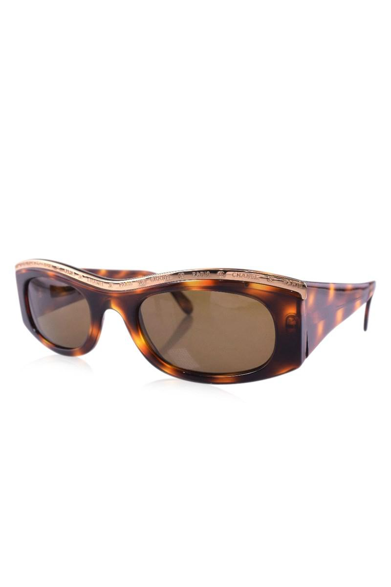 Chanel Brown Sunglasses Women in Brown   Lyst