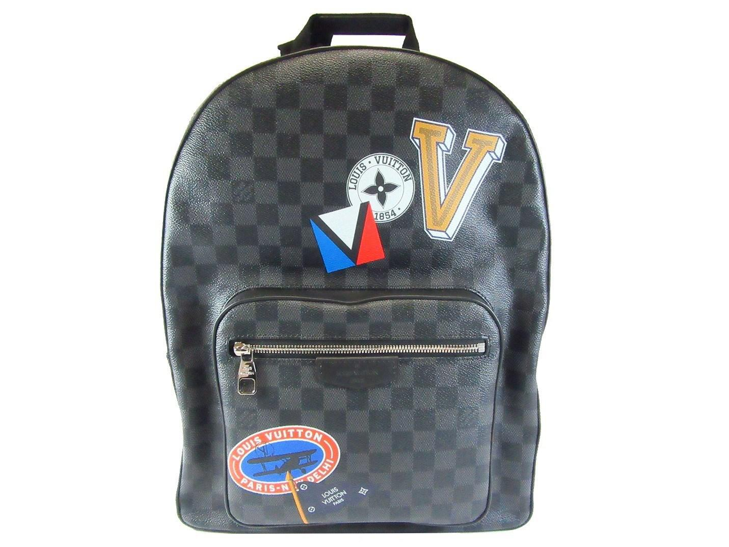 ... lyst louis vuitton damier graphite josh backpack ruckshck n64424 ... 6fdb0ccda76ec